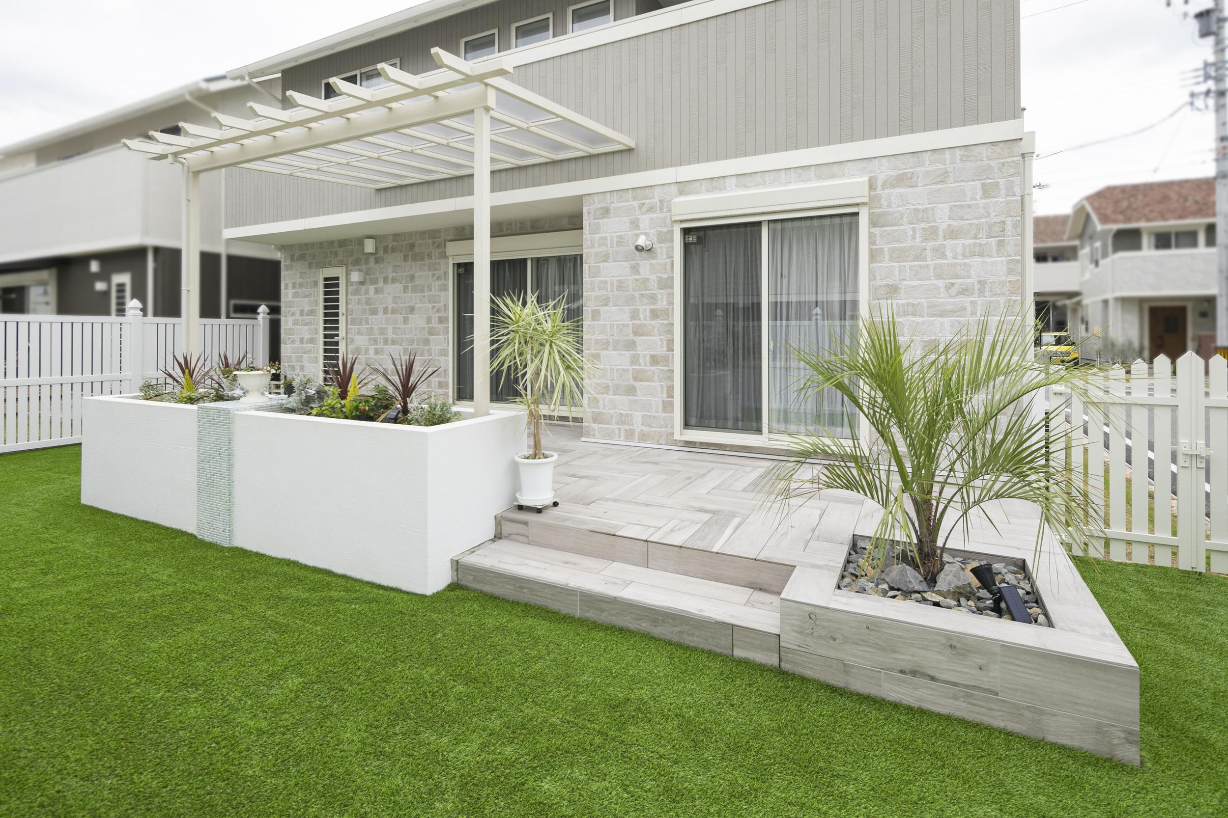 庭 ガーデン テラス 人工芝 ドッグラン ガーデンリビング