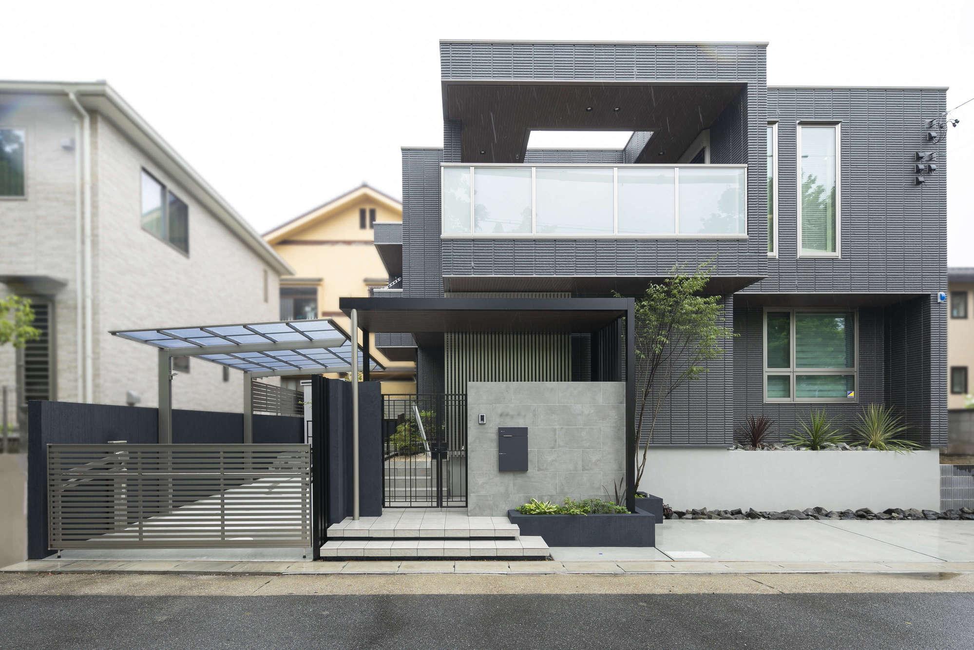 重厚感のある家族のための外構デザイン|愛知県名古屋市 | 外構 ...