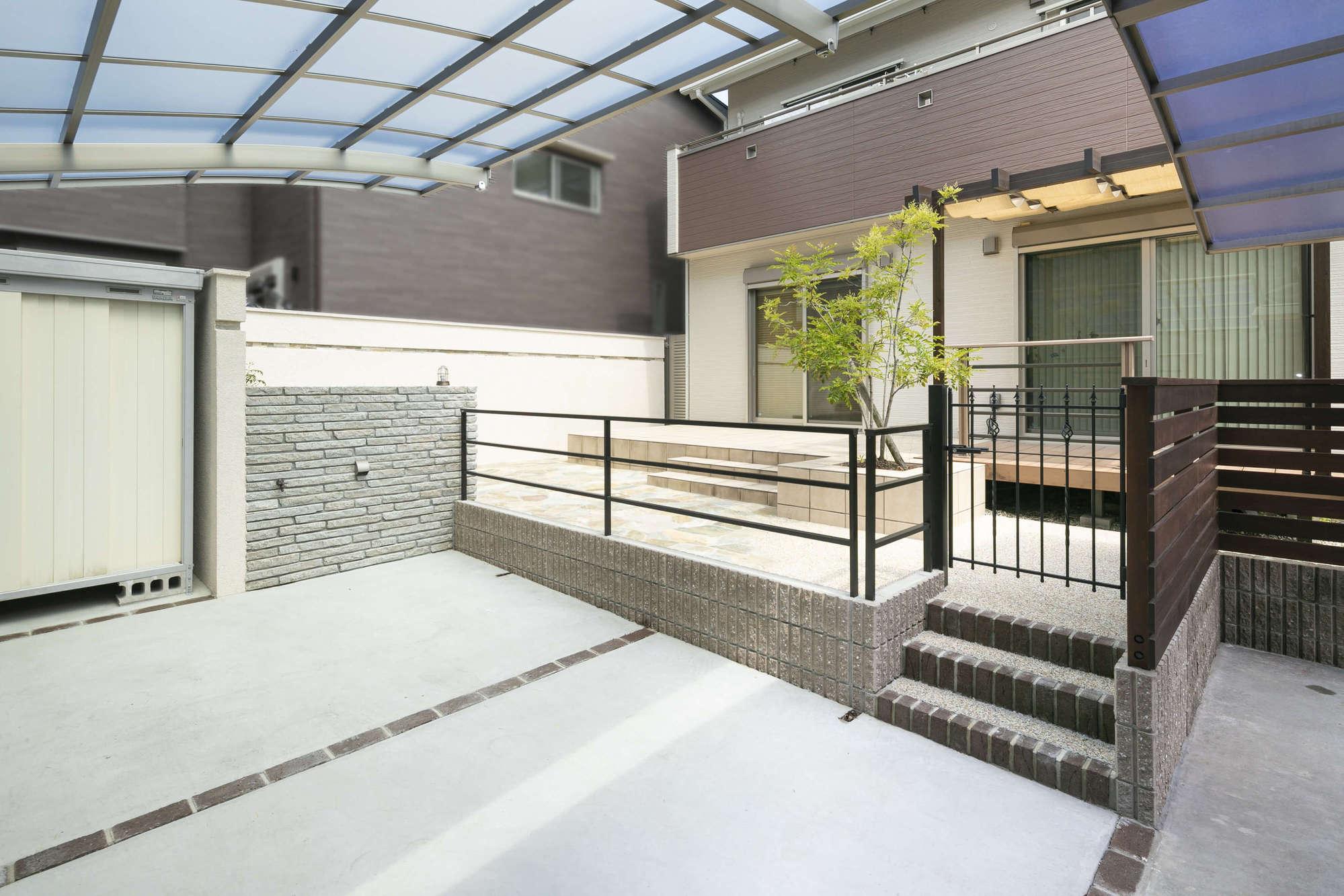 リフォーム外構 リノベーション 外構リフォーム ガーデンリフォーム ガーデンデザイン