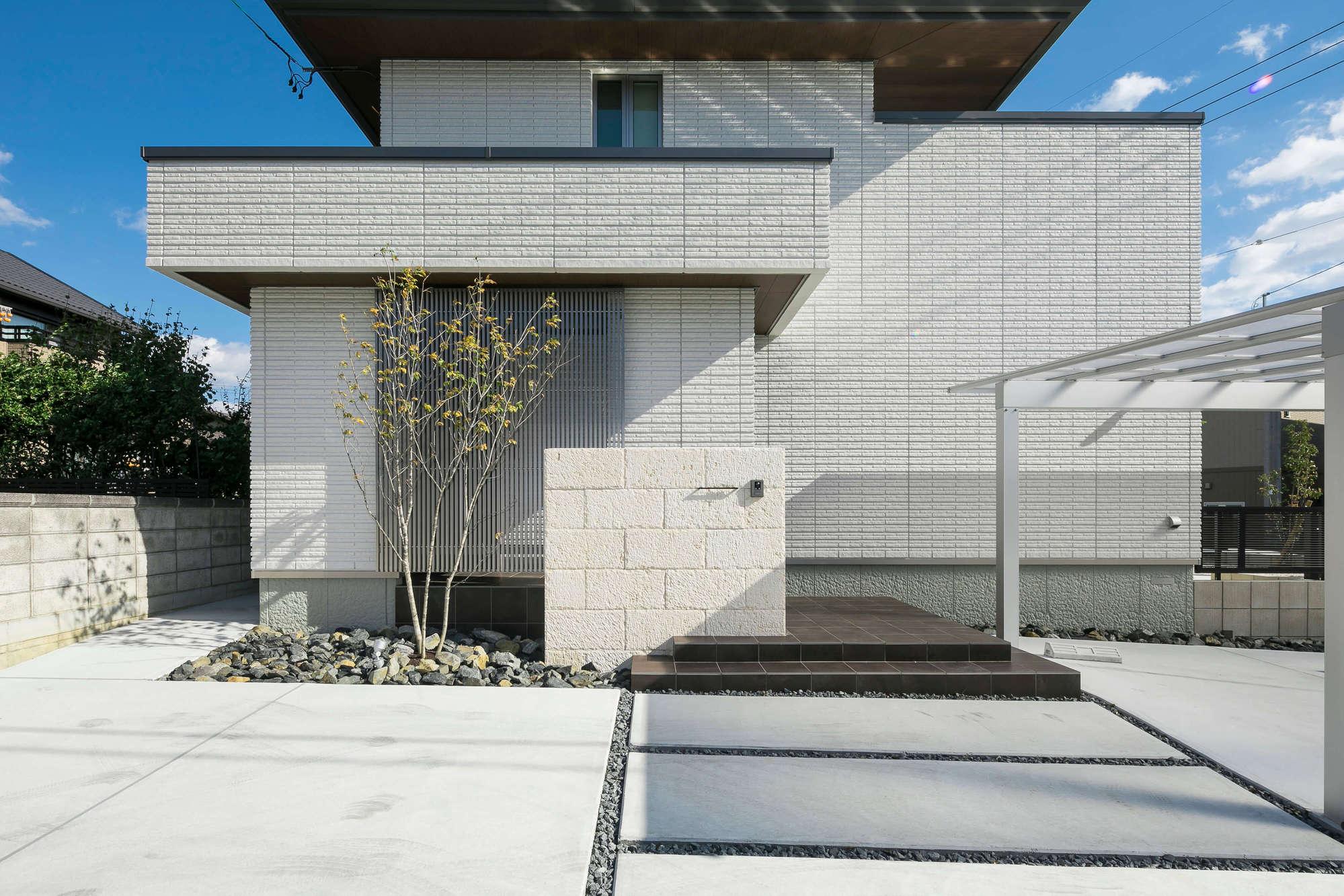 積水ハウス ナチュラルモダンStyle 新築外構 施工例